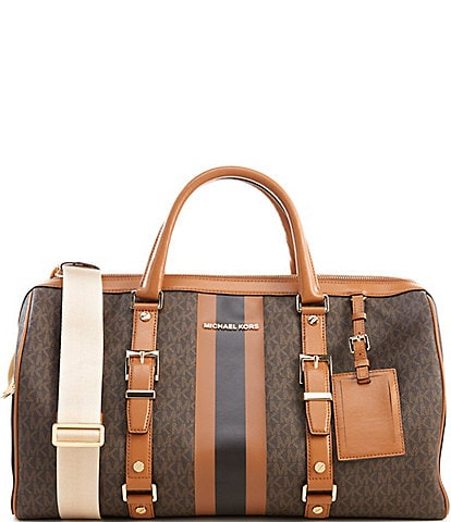 MICHAEL Michael Kors Bedford Travel Signature Large Duffel Bag