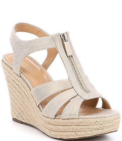 MICHAEL Michael Kors Berkley Metallic Wedges