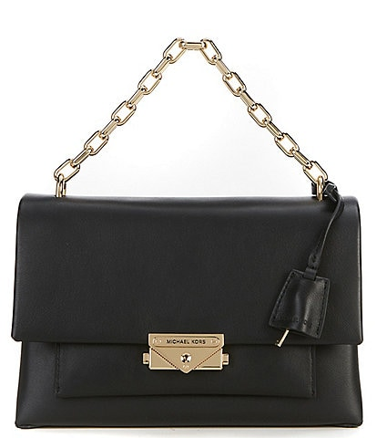 253ce8288f3e MICHAEL Michael Kors Cece Medium Chain Push Lock Shoulder Bag