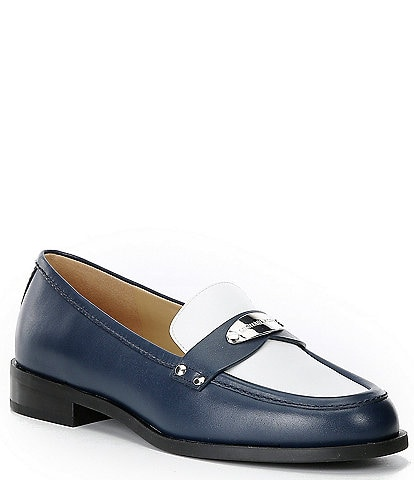 MICHAEL Michael Kors Finley Colorblock Leather Loafers