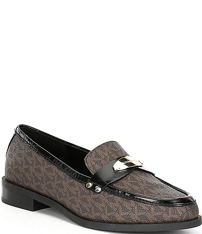 MICHAEL Michael Kors Finley Leather Loafers