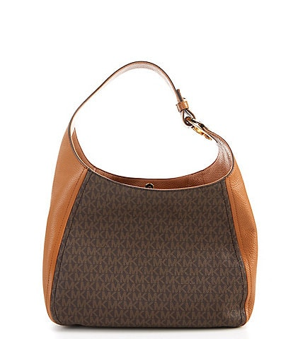 Michael Kors Fulton Signature Large Hobo Bag