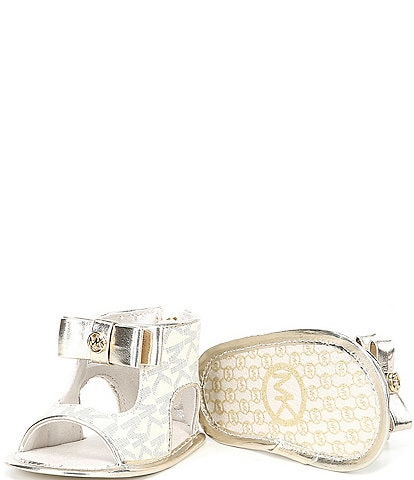 MICHAEL Michael Kors Girls' Baby Tilly Dahnia Sandal Crib Shoes (Infant)