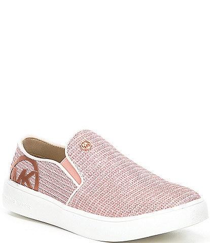 MICHAEL Michael Kors Girls' Jem Rachel Glitter Slip-On Sneakers (Toddler)