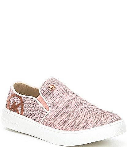 MICHAEL Michael Kors Girls' Jem Rachel Glitter Slip-On Sneakers (Youth)