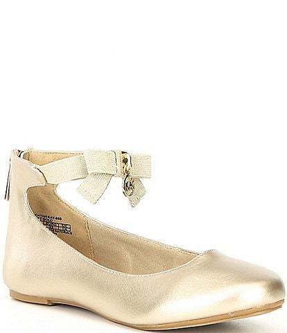 MICHAEL Michael Kors Girls' Kenyah Kay-T Ballet Flats (Toddler)
