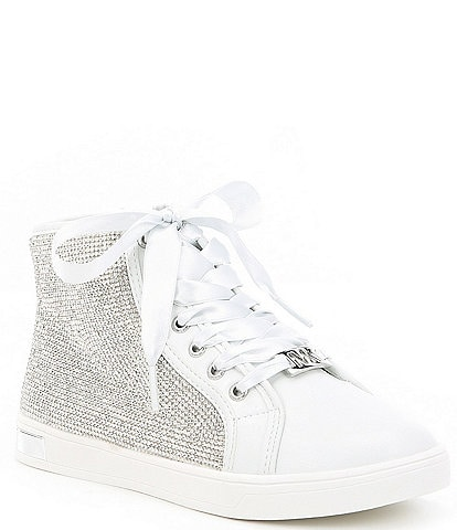 MICHAEL Michael Kors Girls' Ollie Light High Top Sneaker