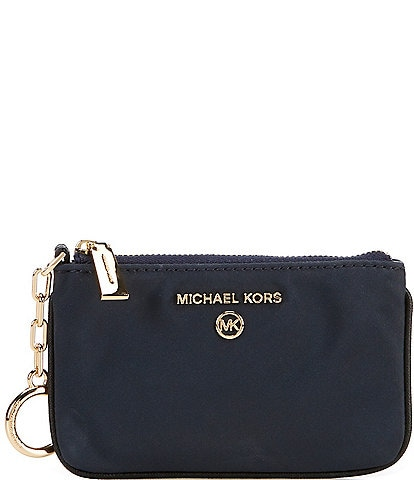 Michael Kors Jet Set Charm Extra-Small Nylon Key Card Case