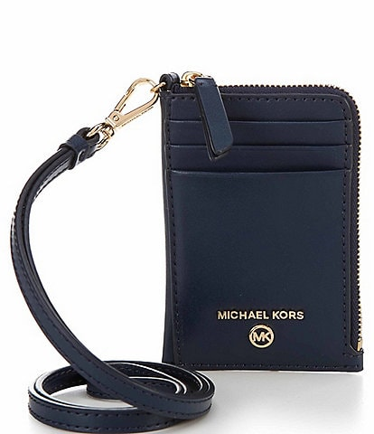 Michael Kors Jet Set Charm Leather Small ID Lanyard