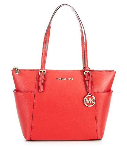 Michael Kors Jet Set East/West Saffiano Leather Tote Bag