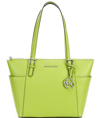 Michael Kors Jet Set East West Saffiano Leather Tote Bag