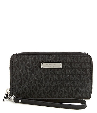 Michael Kors Jet Set Signature Multifunction Phone Wallet