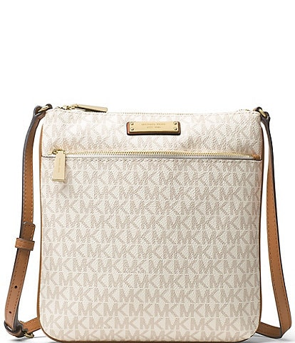 Michael Kors Jet Set Small Flat Crossbody Bag