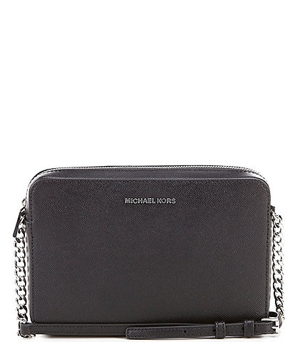 Michael Kors Jet Set Travel Large Chain Strap Crossbody Bag