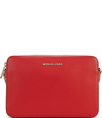 942ea093bc3f MICHAEL Michael Kors Jet Set Travel Large East West Chain Strap Cross-Body  Bag
