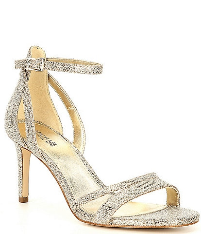 MICHAEL Michael Kors Kimberly Glitter Dress Sandals