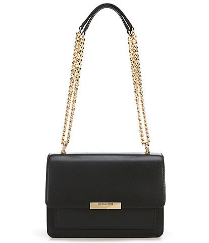 MICHAEL Michael Kors Large Gusset Snap Chain Shoulder Bag