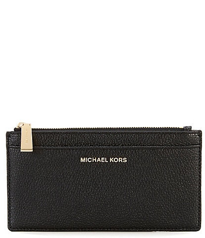 1bc8f89db25d3 MICHAEL Michael Kors Large Leather Slim Card Case