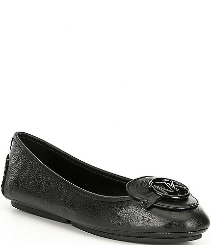 MICHAEL Michael Kors Lillie Leather Moccasins