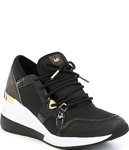 MICHAEL Michael Kors Liv Trainer Canvas Sneakers