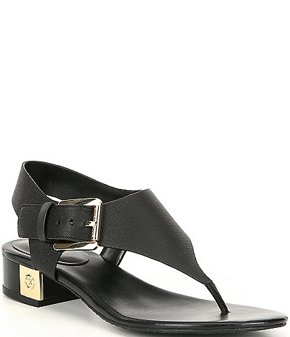 MICHAEL Michael Kors London Thong Block Heel Sandals