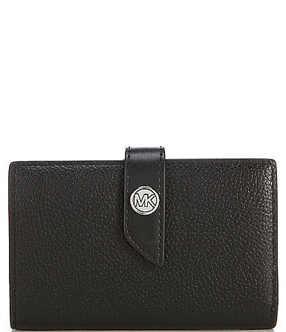 Michael Kors MK Charm Medium Tab Wallet