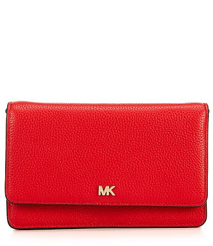 Michael Kors Phone Leather Crossbody Bag