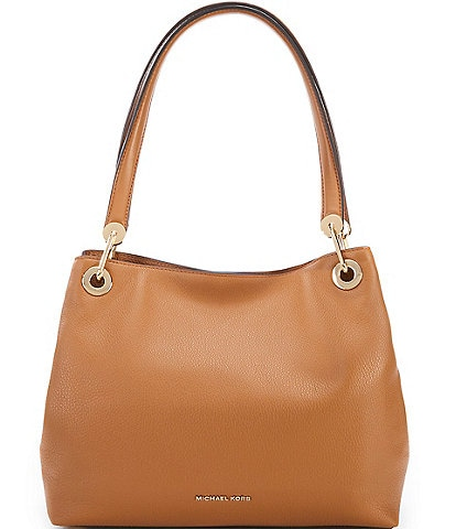 MICHAEL Michael Kors Gold-Tone Raven Large Shoulder Tote