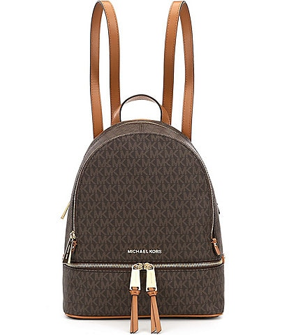 MICHAEL Michael Kors Rhea Signature Medium Backpack 2d823b39b5