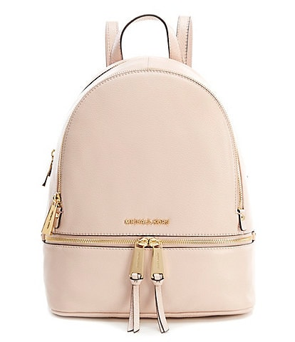 65aaf01cc681 MICHAEL Michael Kors Rhea Zip Medium Pebble Leather Backpack