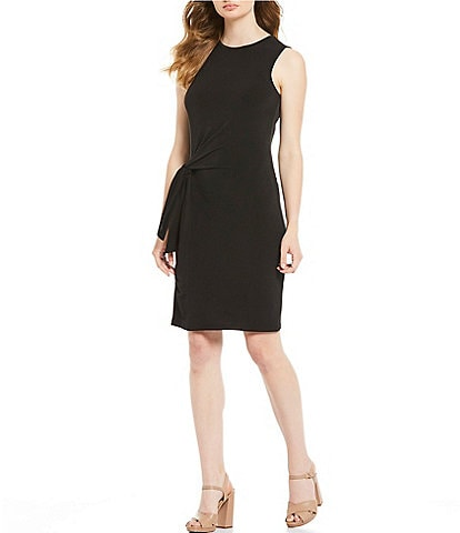 MICHAEL Michael Kors Side-Tie Waist Detail Sheath Dress