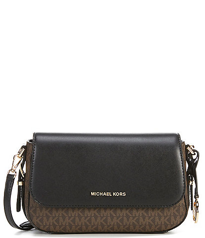 Michael Kors Signature Beford Large Flap Crossbody Bag