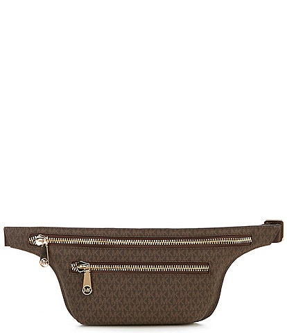 MICHAEL Michael Kors Signature Double Zip Belt Bag