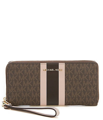 Michael Kors Signature Jet Set Travel Continental Wallet