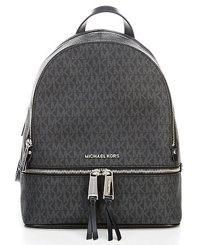 Michael Kors Signature Rhea Medium Backpack