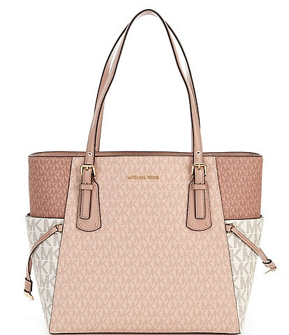 Michael Kors Signature Voyager East West Tote Bag