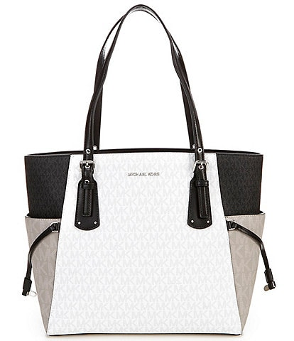 MICHAEL Michael Kors Signature Voyager East West Tote Bag