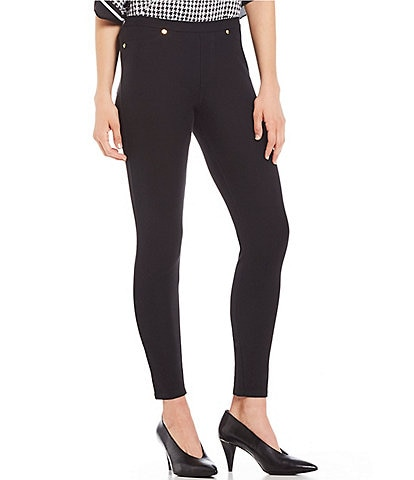 MICHAEL Michael Kors Stretch Knit Twill Leggings