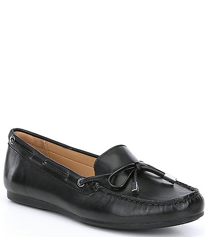 MICHAEL Michael Kors Sutton Moc Bow Detail Loafers