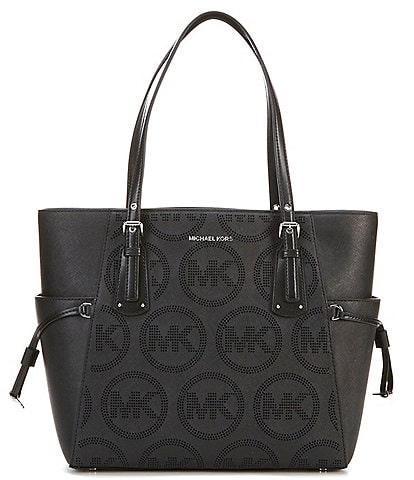 MICHAEL Michael Kors Voyager East West Signature Leather Tote Bag