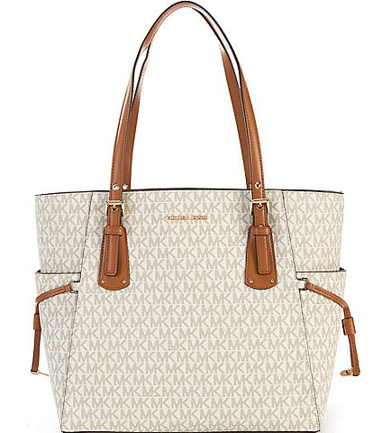 MICHAEL Michael Kors Voyager Signature Colorblock Tote Bag