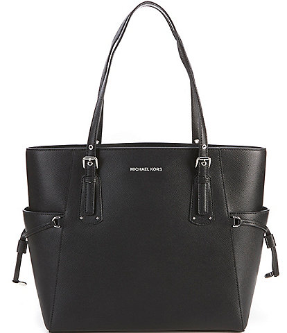 925695bbced7 MICHAEL Michael Kors Voyager Leather Tote