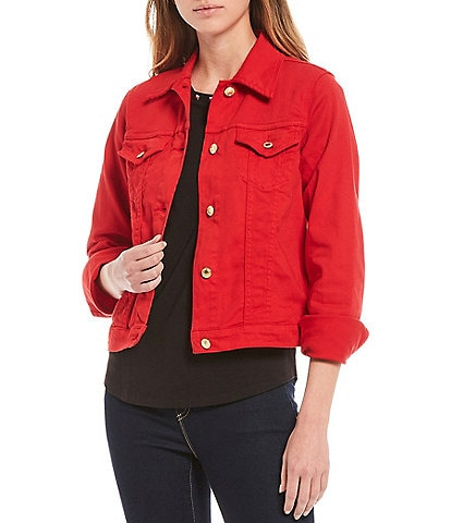 MICHAEL Michael Kors Denim Stretch Jean Jacket