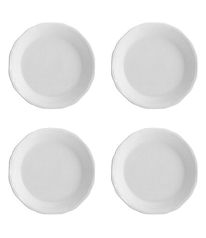Mikasa 4-Piece Antique White Dipping Plate Set