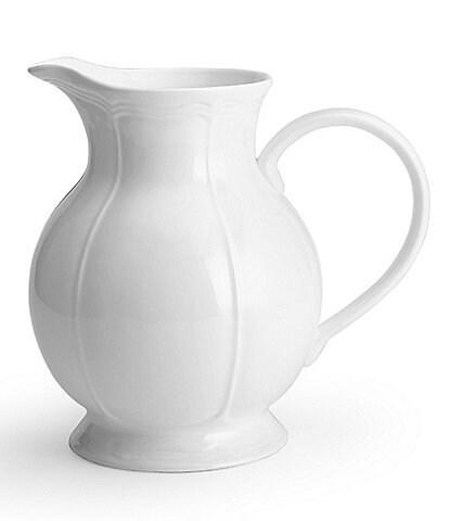 Mikasa Antique White Porcelain Pitcher