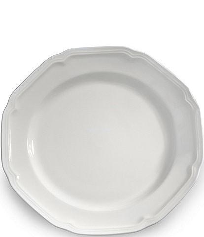 Mikasa Antique White Porcelain Round Platter