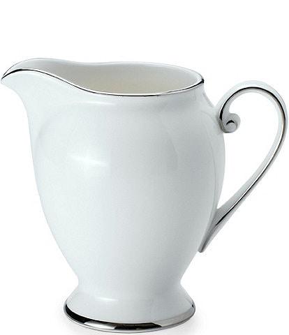 Mikasa Cameo Platinum Porcelain Creamer