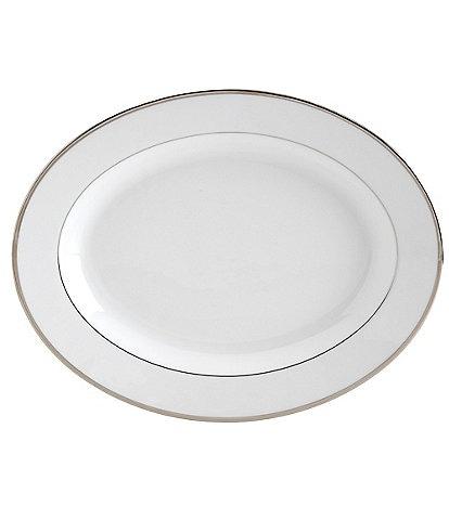Mikasa Cameo Platinum Porcelain Oval Platter