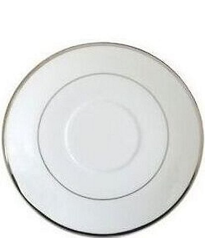 Mikasa Cameo Platinum Porcelain Saucer