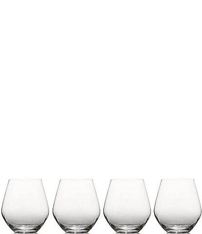 Mikasa Gianna Ombre Stemless Wine Glasses, Set of 4